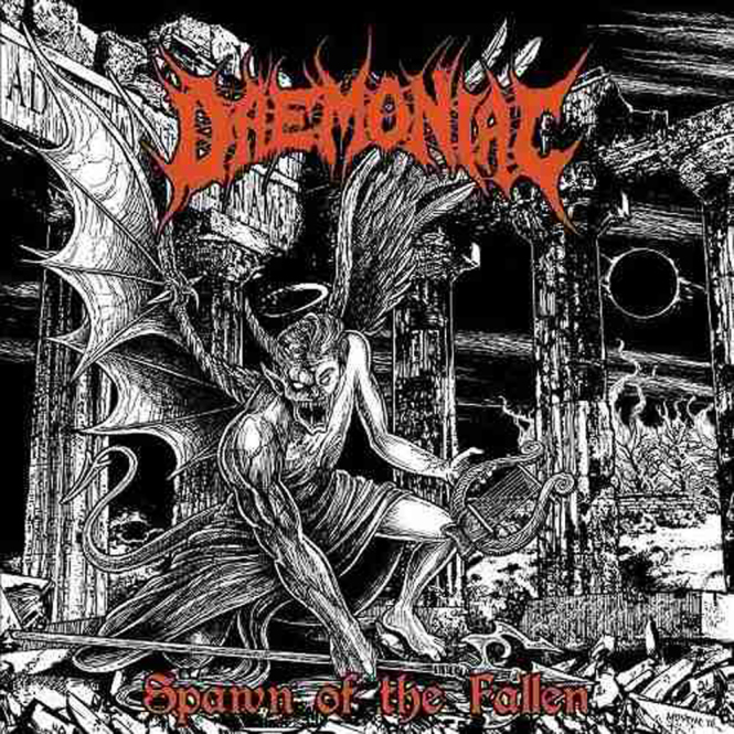 DAEMONIAC - spawn of the fallen CD
