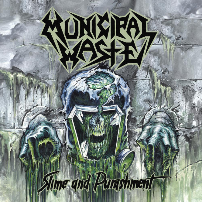 MUNICIPAL WASTE - slime and punishment CD