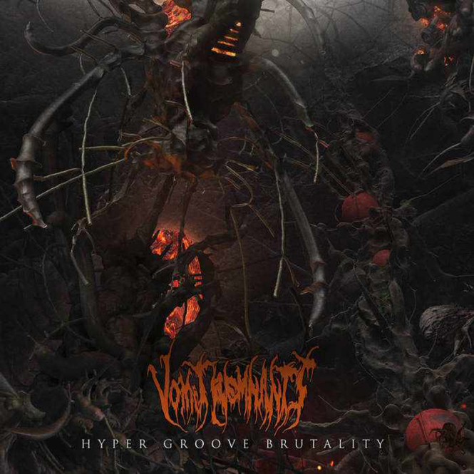 VOMIT REMNANTS - hyper groove brutality CD
