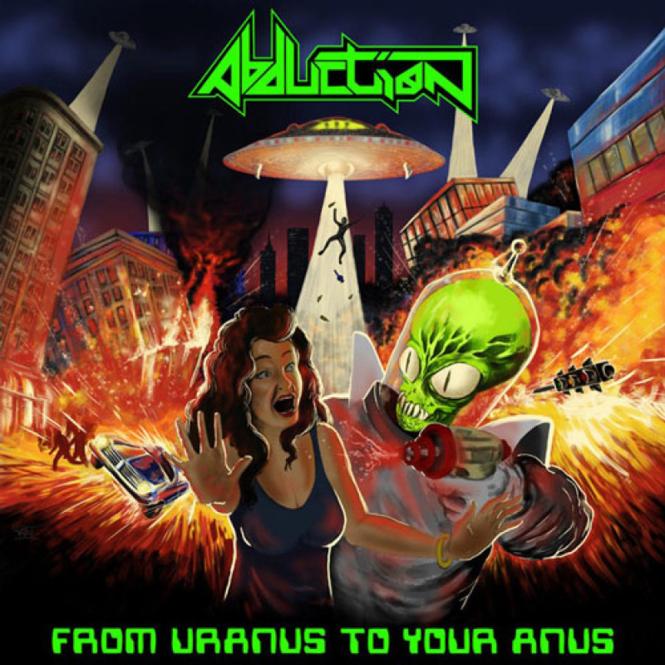 ABDUCTION - from uranus to your anus CD
