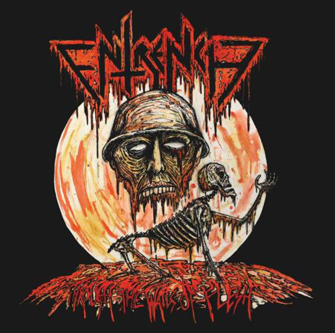 ENTRENCH - through the walls of flesh CD