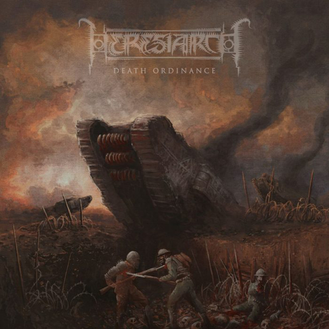 HERESIARCH - death ordinance CD