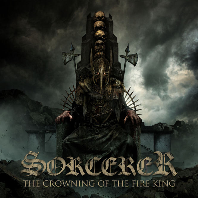 SORCERER - the crowning of the fire king CD