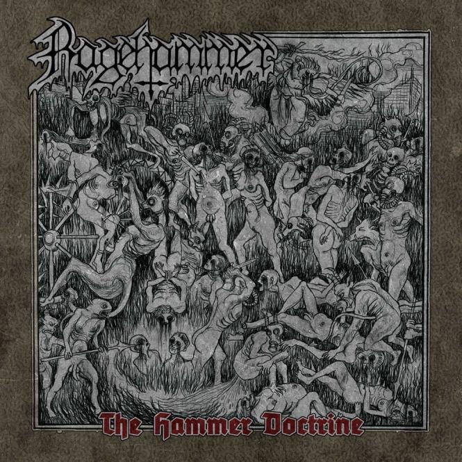 RAGEHAMMER - the hammer doctrine CD