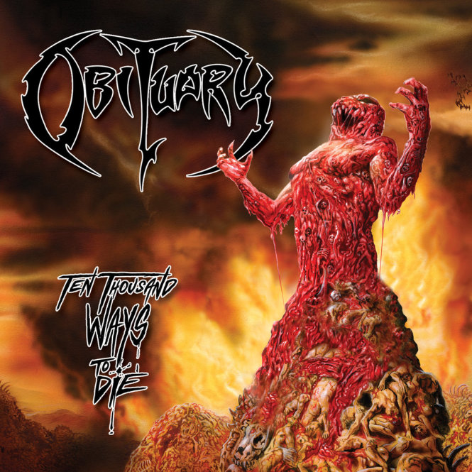 OBITUARY - ten thousand ways to die CD