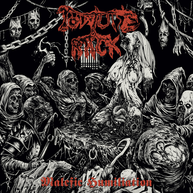 TORTURE RACK - malefic humiliation CD