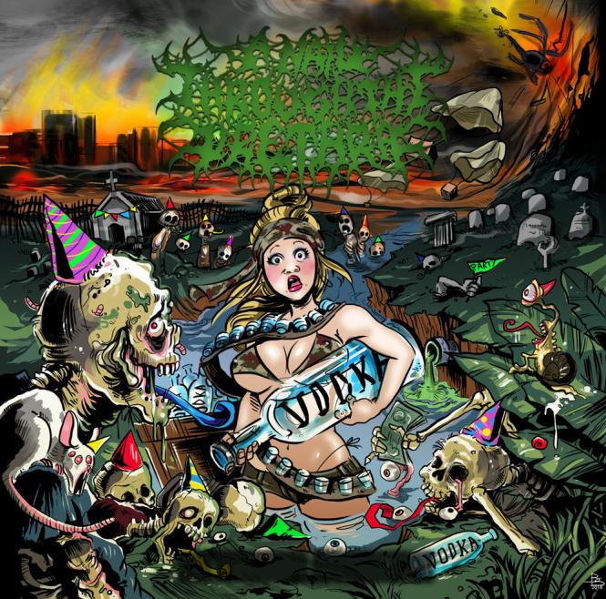 A NAIL THROUGH THE URETHRA - the hangover avodkalypse CD