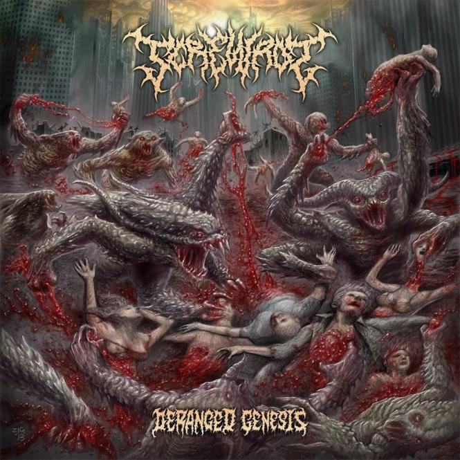 SCREWROT - deranged genesis CD