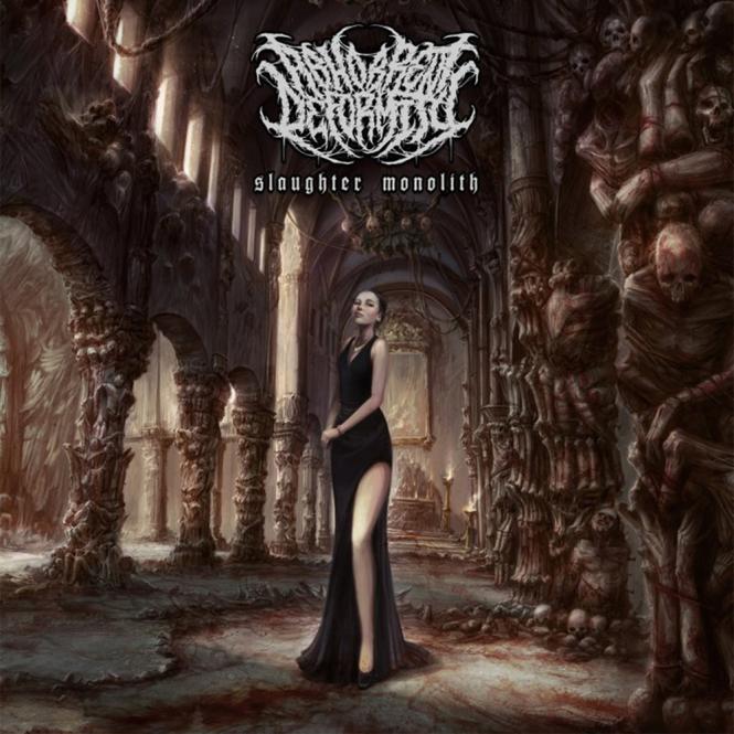 ABHORRENT DEFORMITY - slaughter monolith CD
