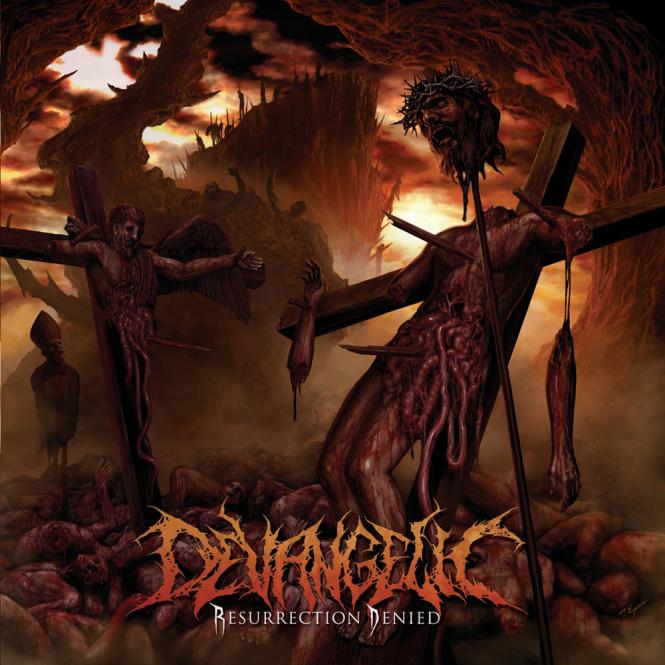 DEVANGELIC - resurrection denied CD