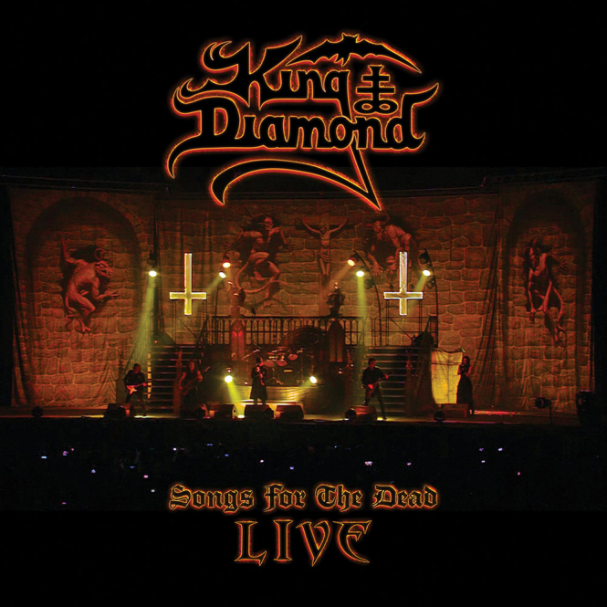 KING DIAMOND - songs for the dead DigiCD+2DVD