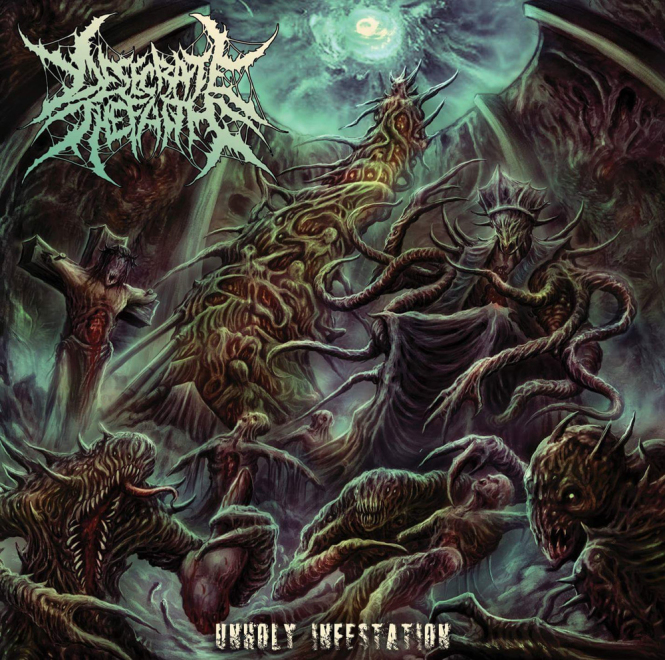 DESECRATE THE FAITH - unholy infestation CD