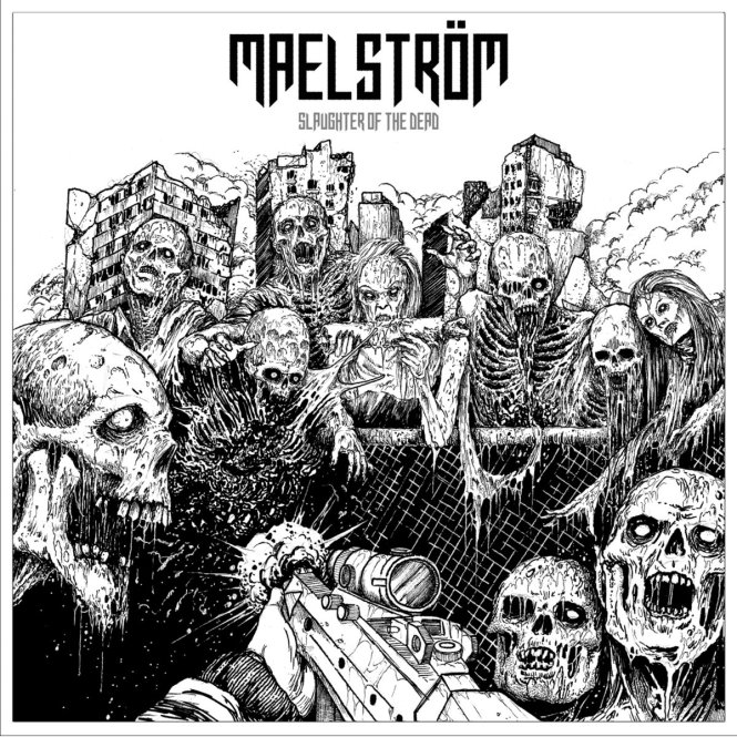MAELSTRÖM - slaughter of the dead CD