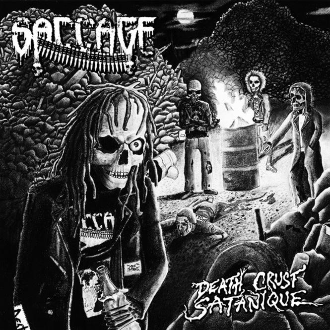 SACCAGE - death crust satanique CD