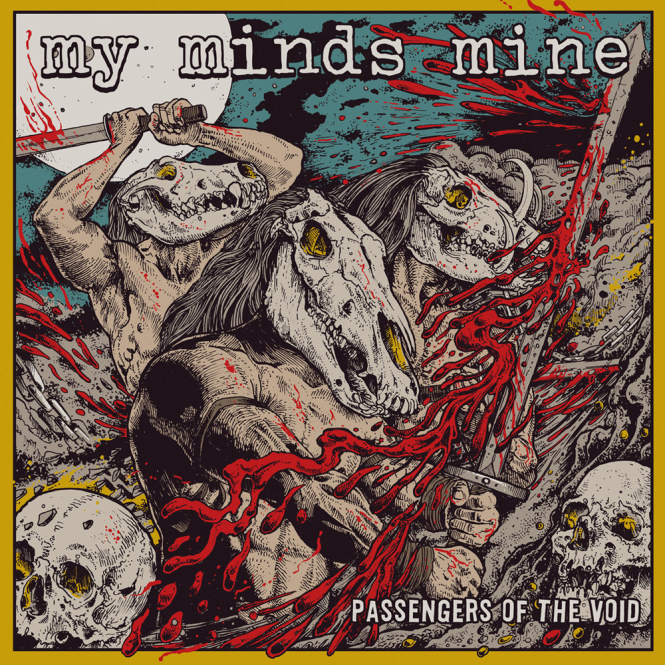 MY MINDS MINE - passengers of the void CD