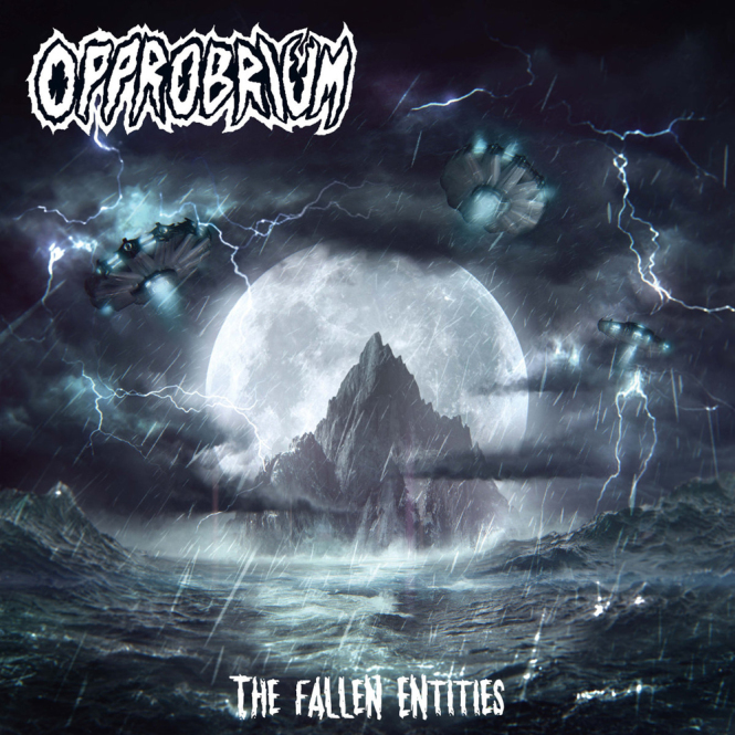 OPPROBRIUM - the fallen entities CD+Schuber