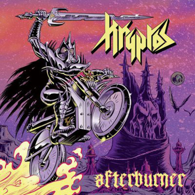 KRYPTOS - afterburner CD