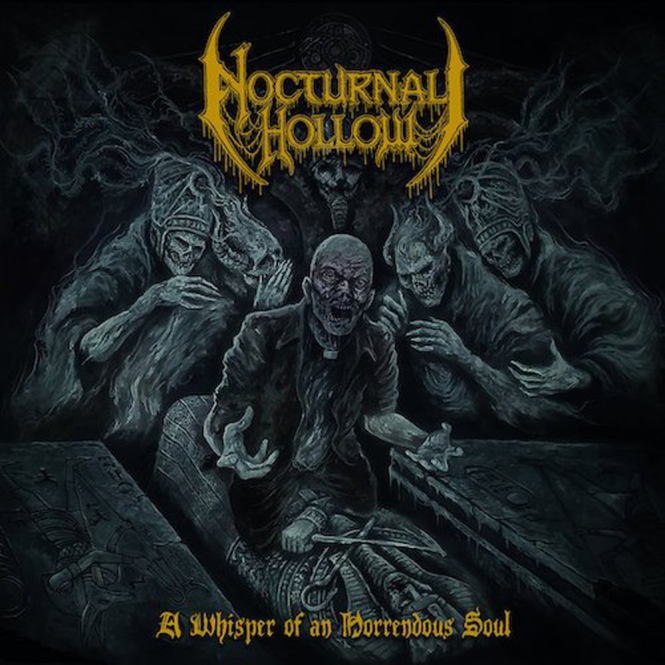 NOCTURNAL HOLLOW - a whisper of an horrendous soul CD
