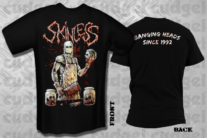 SKINLESS - banging heads  T-Shirt