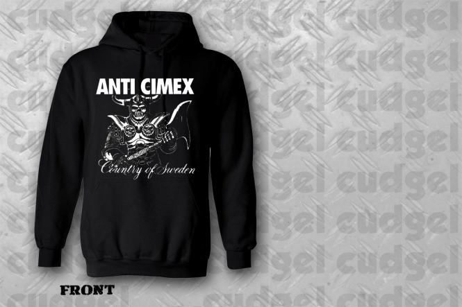 ANTI CIMEX - country of sweden Hoodie