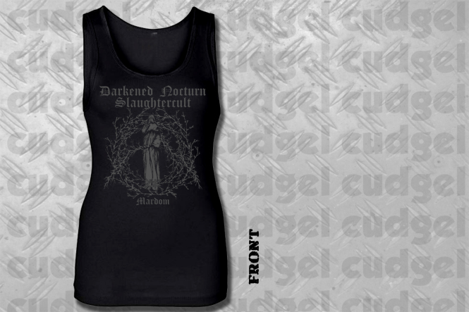 DARKENED NOCTURN SLAUGHTERCULT - mardom Girlie Tank Top