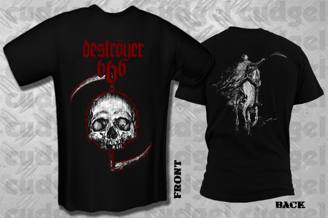 DESTRÖYER 666 - skull T-Shirt