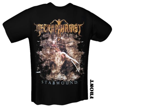 NECROPHAGIST - stabwound T-Shirt