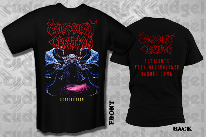 MALEVOLENT CREATION - retribution T-Shirt