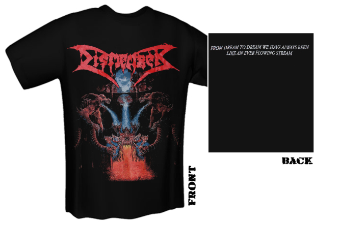 DISMEMBER - like an everflowing stream T-Shirt
