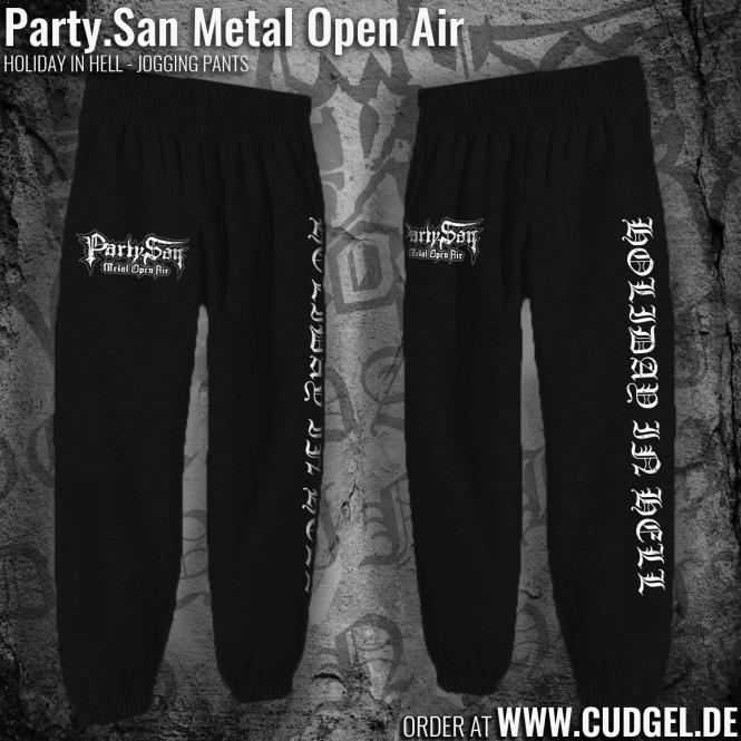 PARTY.SAN OPEN AIR - black JOGGING HOSE