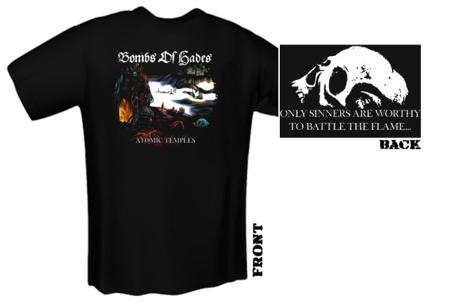 BOMBS OF HADES - atomic temples T-Shirt