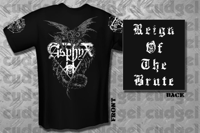 fa6d4068c cudgel | ASPHYX - reign emblem T-Shirt | CUDGEL is one of Germany´s ...