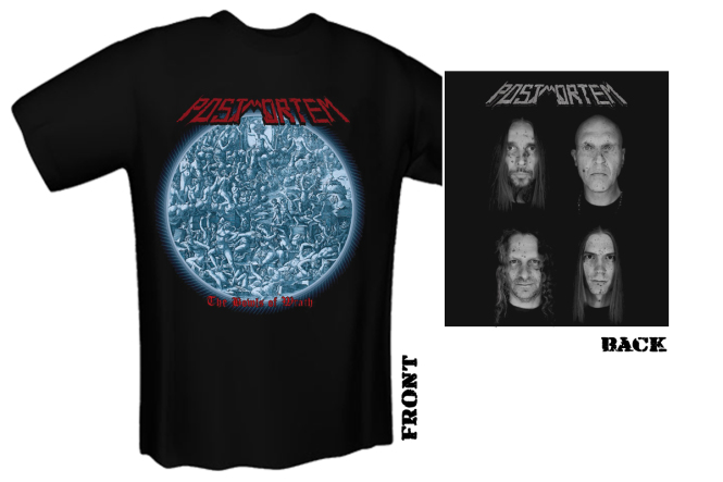 POSTMORTEM - wrath earth T-Shirt