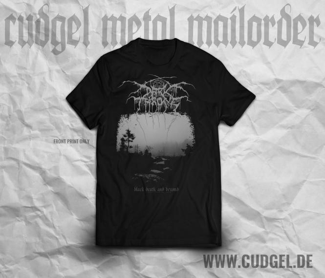 cudgel | DARKTHRONE - black death and beyond T-Shirt