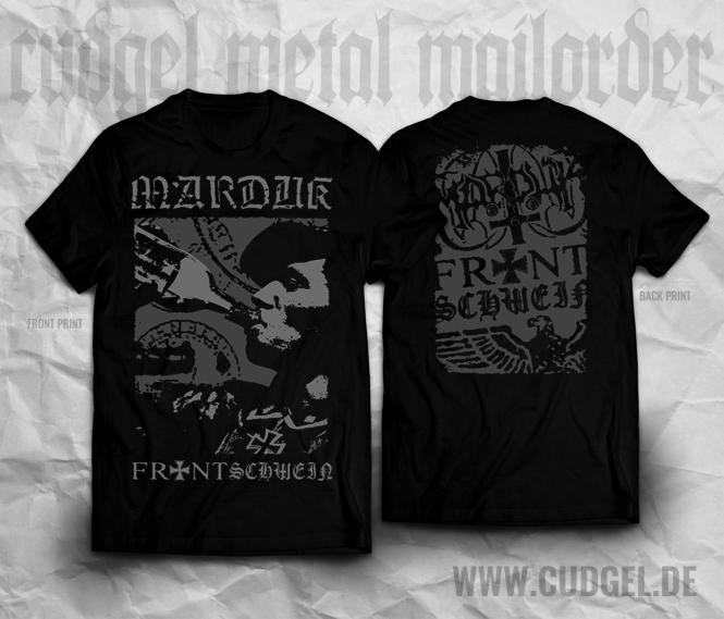 MARDUK - frontschwein bottle T-Shirt