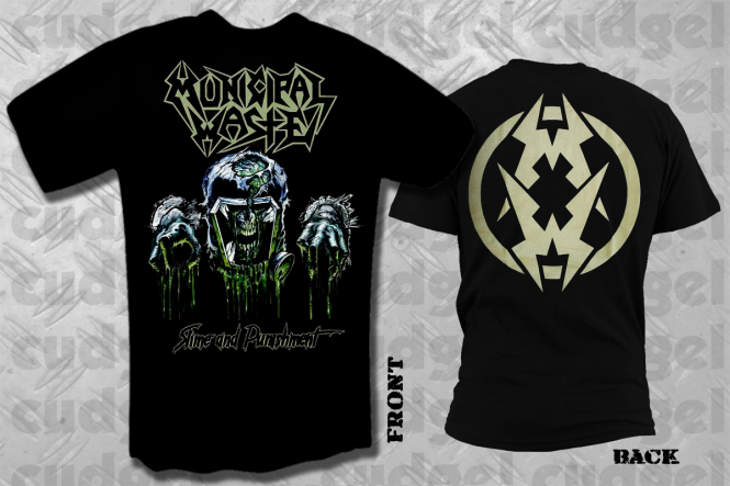 MUNICIPAL WASTE - slime and punishment T-Shirt