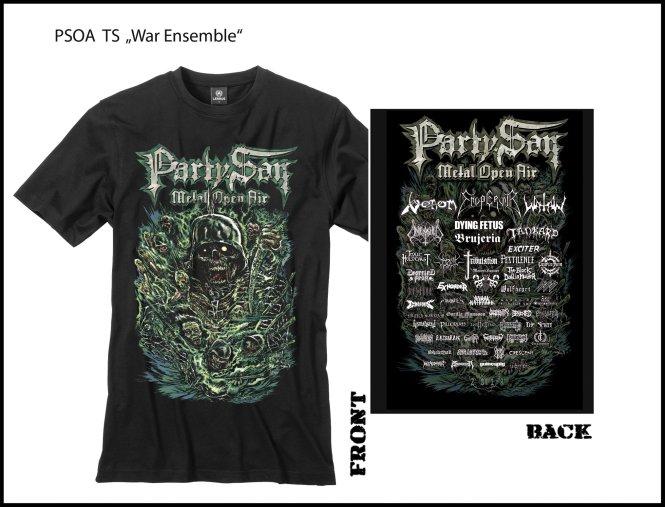 PARTY.SAN OPEN AIR 2018 - war ensemble T-Shirt