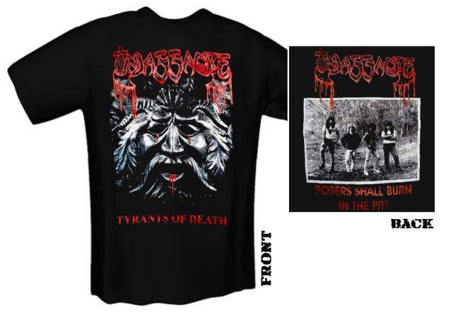 MASSACRE - tyrants of death T-Shirt
