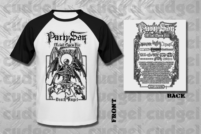 PARTY.SAN OPEN AIR 2017 - death angel Baseball T-Shirt