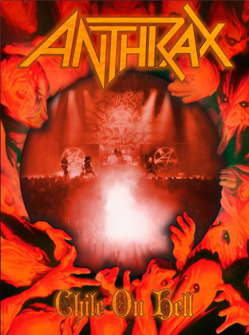 ANTHRAX - chile on hell DVD+2CD