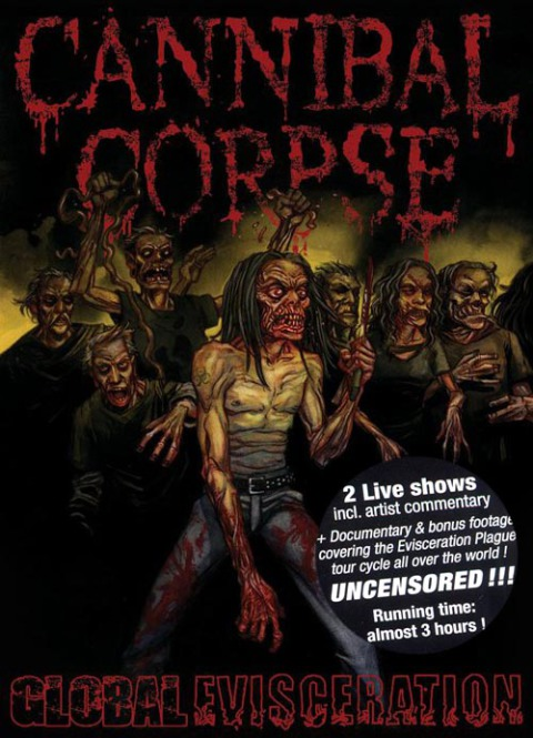CANNIBAL CORPSE - global evisceration DigiDVD