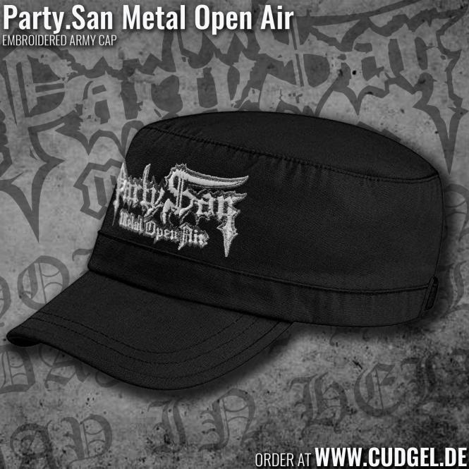 PARTY.SAN OPEN AIR - army cap