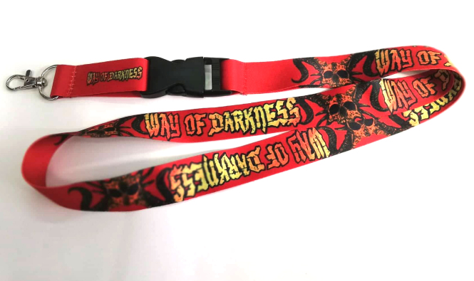 WAY OF DARKNESS - lanyard