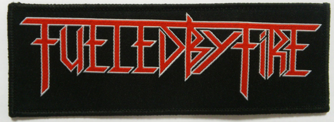 FUELED BY FIRE - logo PATCH