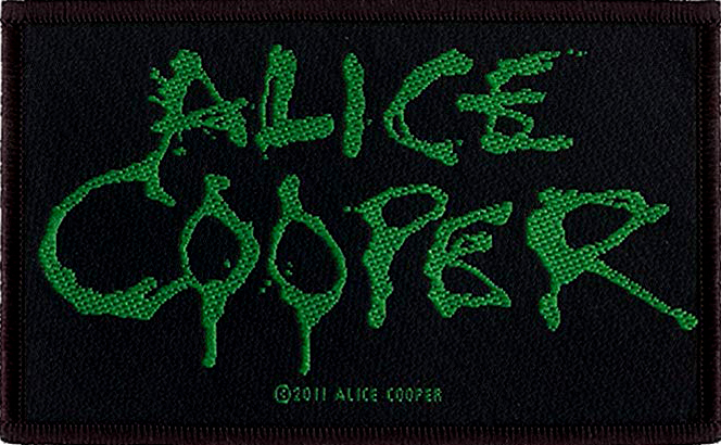 ALICE COOPER - logo PATCH