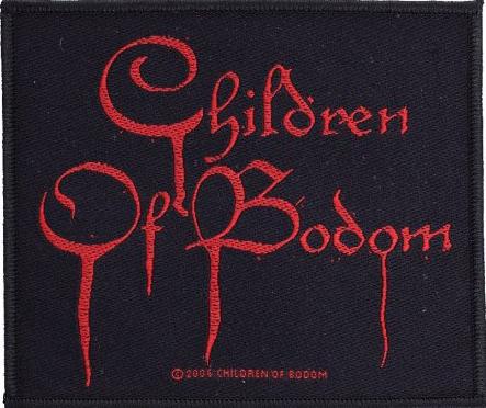 CHILDREN OF BODOM - logo PATCH