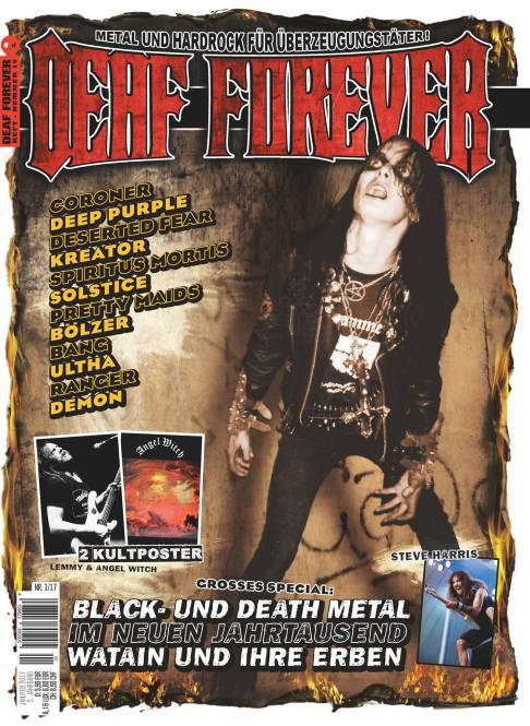 DEAF FOREVER MAGAZINE Nr 01/2017
