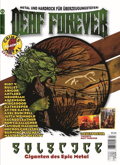 DEAF FOREVER MAGAZINE Nr 03/2018